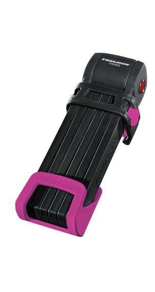 Trelock FS 300 Trigo Faltschloss inkl. Halter pink